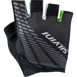 Men gloves Silvini TEAM MA1412 black-green, Silvini