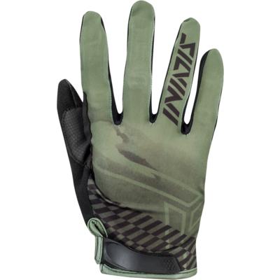 Men gloves Silvini GATTOLA MA1425 olive, Silvini