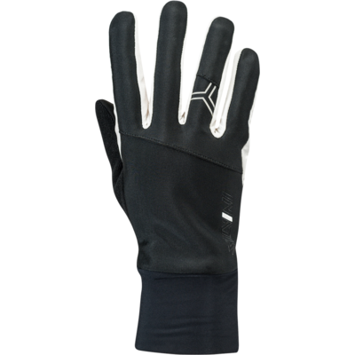 Women gloves Silvini Rieser WA1711 black-white, Silvini