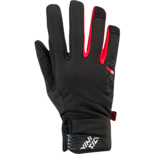 Women gloves Silvini Ortles WA1540 black-red, Silvini