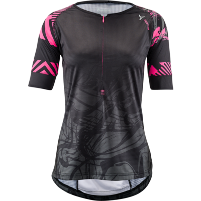 Women's MTB jersey Silvini Stabina WD1432 black