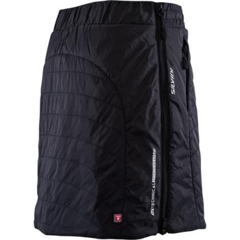 Women insulated skirt Silvini Cucca WS744 black, Silvini