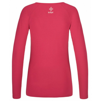 Women's T-shirt long sleeve Kilpi INA-W pink, Kilpi