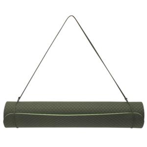 Mat to yoga YATE yoga mat double layer / green / material TPE, Yate