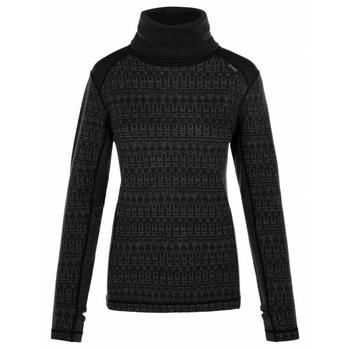Women's warm turtleneck Kilpi JANNU-W black, Kilpi