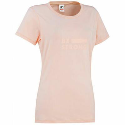 Women's stylish short sleeve T-shirt Kari Traa Tvilde 622450, pink