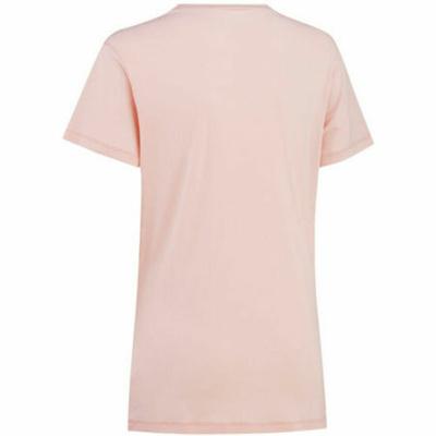 Women's stylish short sleeve T-shirt Kari Traa Tvilde 622450, pink, Kari Traa