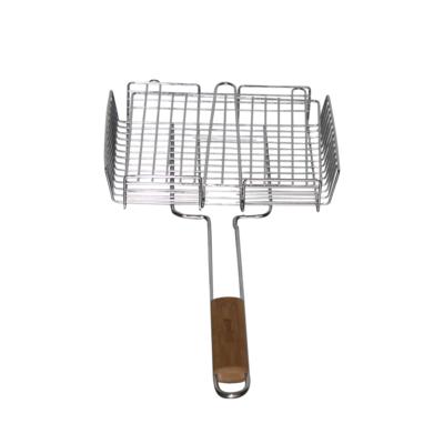 BBQ basket GrandHall with bamboo handle, Grandhall