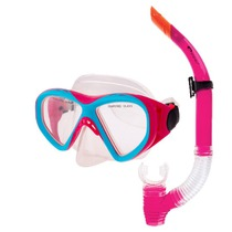 Set glasses + snorkel Spokey KRAKEN II pink, Spokey