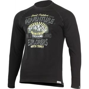 T-Shirt Lasting LAND 9090 black wool, Lasting