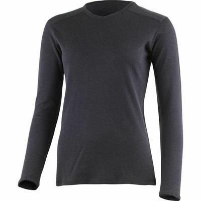 Women merino sweatshirt Lasting BELA-5959 blue