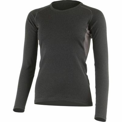 Women Lasting merino hoodie BERTA-9088 black