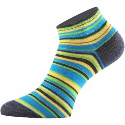 Functional socks Lasting DUHA-961 striped