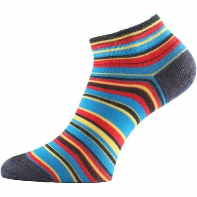 Functional socks Lasting DUHA-913 striped
