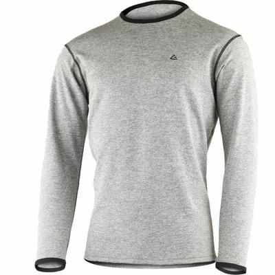 Men merino sweatshirt Lasting WM1-3189 grey