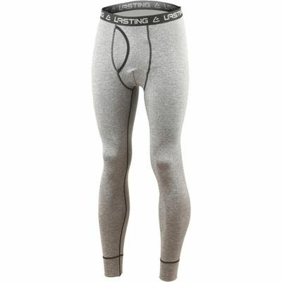 Men's merino longjohns Lasting WRAK-3189 gray, Lasting