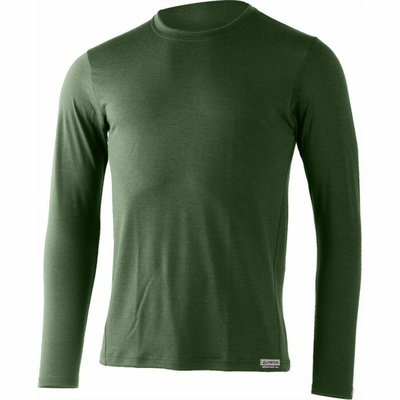 Men merino shirt Lasting Alan green
