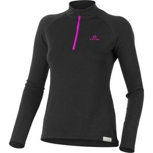 Merino Sweatshirt Lasting LAURA 9094 black