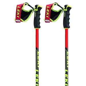 Downhill sticks LEKI Venom GS neonred / black / white / yellow 6436769, Leki
