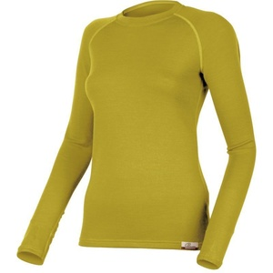 Merino Sweatshirt Lasting LENA 6464 mustard, Lasting