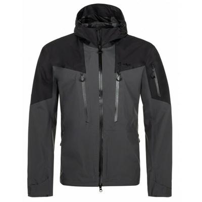 Men's outdoor jacket Kilpi LEXAY-M dark grey