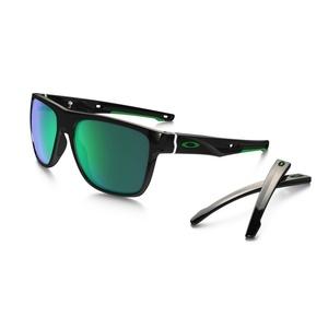 Sun glasses OAKLEY Crossrange XL Pole Black w/ Jade Irid OO9360-0258, Oakley