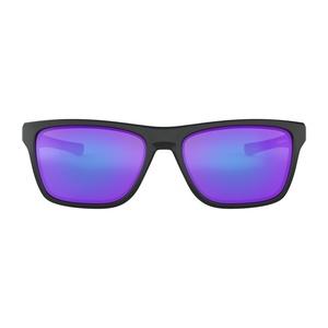 Sun glasses OAKLEY Holston Matt Black w/ Violet Irid OO9334-0958, Oakley