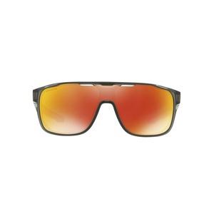 Sun glasses OAKLEY Crossrange Shield MttGySMk w/ PRIZM Ruby OO9387-0431, Oakley