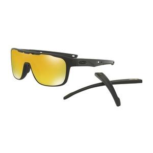 Sun glasses OAKLEY Crossrange Shield Mtt Black w/ 24K Irid OO9387-0631, Oakley