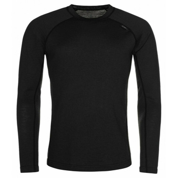 Men's functional shirt long sleeve Kilpi MAVORA TOP-M Black, Kilpi