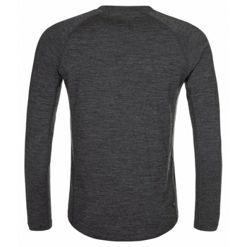 Men's functional shirt long sleeve Kilpi MAVORA TOP-M dark grey, Kilpi