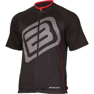 Bike jersey Lasting MD73 black and red, Lasting