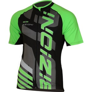 Bike jersey Lasting MD74 black and green, Lasting