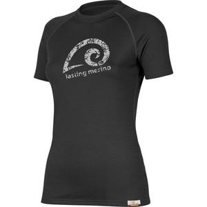 Merino shirt Lasting MERILA 9090 black wool, Lasting