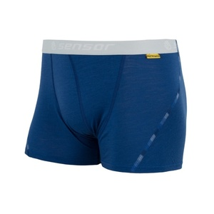 Men boxer shorts Sensor MERINO AIR dark blue 17200008, Sensor