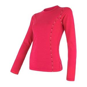 Women shirt Sensor MERINO AIR magenta 17200013, Sensor