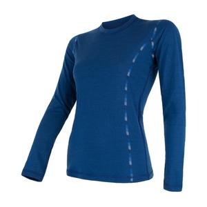 Women shirt Sensor MERINO AIR dark blue 17200014, Sensor