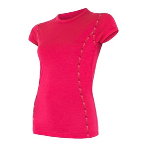 Women shirt Sensor MERINO AIR magenta 17200011, Sensor