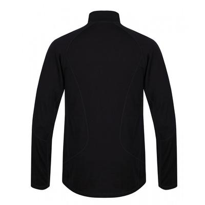 Men's thermo shirt dl. sleeve with zipper Husky Merino black, Husky