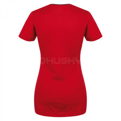 Women's thermal shirt Husky Merino red, Husky