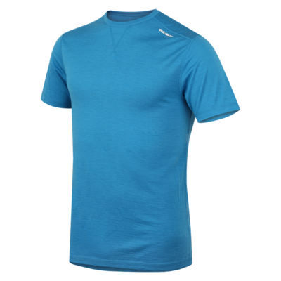 Men's thermo shirt Husky Merino blue, Husky