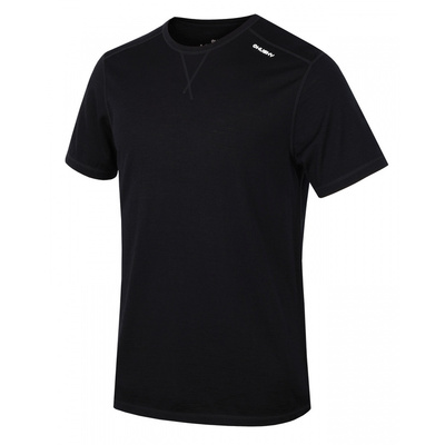 Men's thermo shirt Husky Merino black, Husky