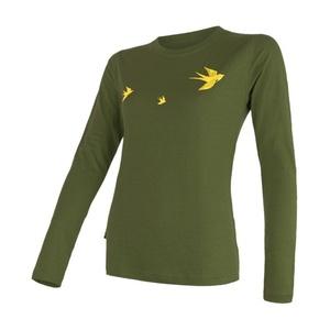 Women shirt Sensor MERINO ACTIVE PT SWAL LOW safari 17200029, Sensor