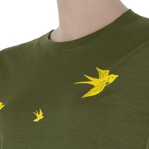 Women shirt Sensor MERINO ACTIVE PT SWAL LOW safari 17200028, Sensor