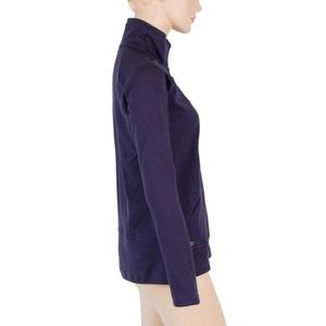 Women hoodie Sensor MERINO UPPER purple 18200039, Sensor