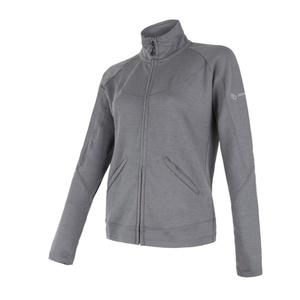 Women hoodie Sensor MERINO UPPER grey 18200040, Sensor