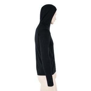 Men hoodie Sensor MERINO UPPER MOUNTAINS black 18200037, Sensor