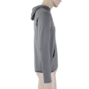 Men hoodie Sensor MERINO UPPER MOUNTAINS grey 18200036, Sensor