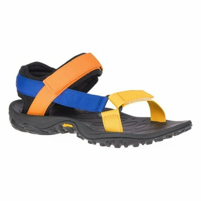 Men's sandals Merrel l Kahuna Web blue/orange, Merrel