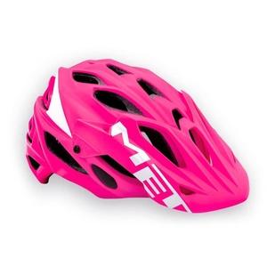Helmet MET PARABEL LUM pink, Met